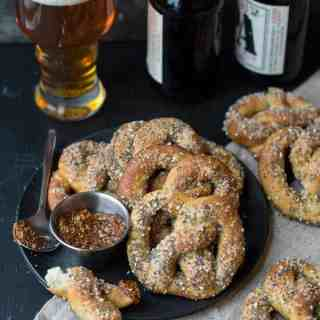everything soft pretzels | superman cooks