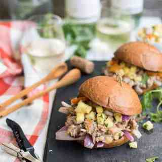 Hawaiian Pineapple Pulled Pork Sandwiches
