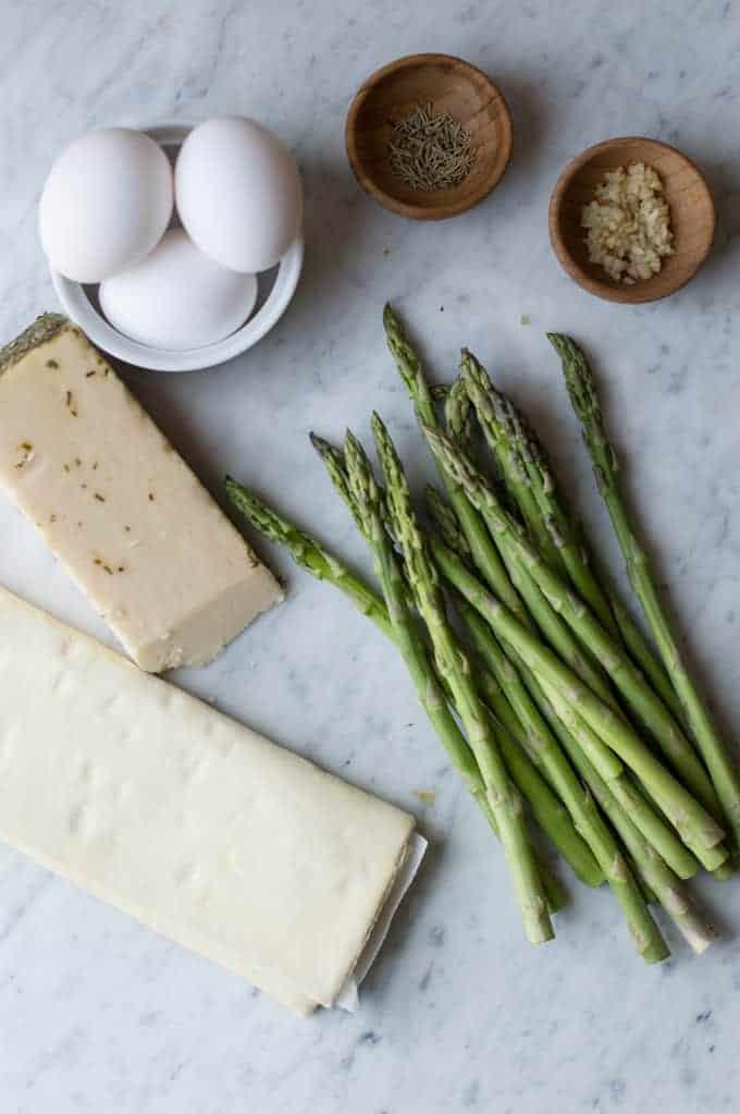 asparagus egg cups | superman cooks