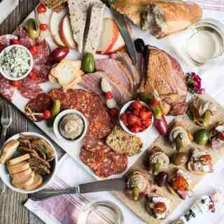 Two Summer Canapés + A Charcuterie Board