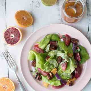 Blood Orange Salad with Citrus Vinaigrette