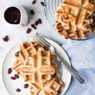 Pearl Sugar Liège Waffles