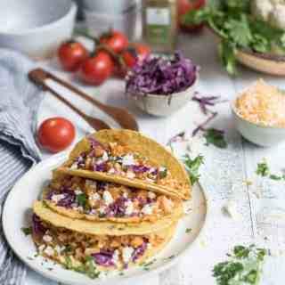 sautéed cauliflower tacos   superman cooks