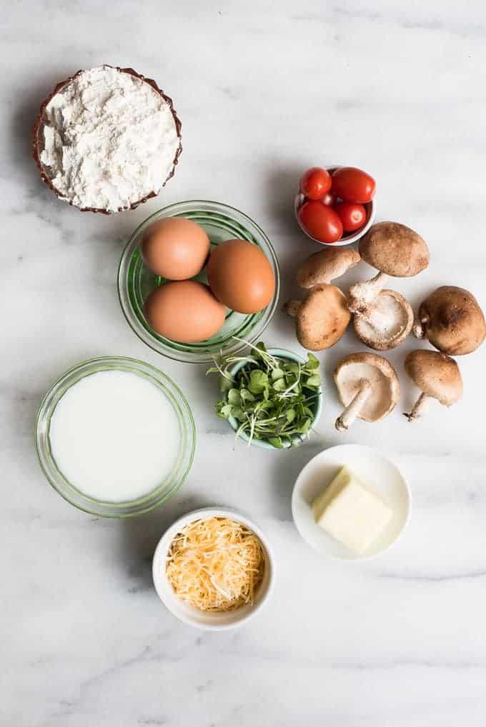 country egg skillet | superman cooks