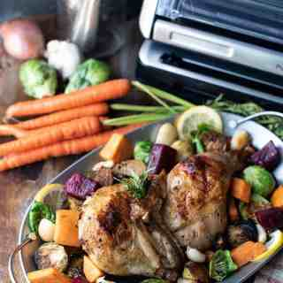 rosemary chicken with roasted vegetables | superman cooks