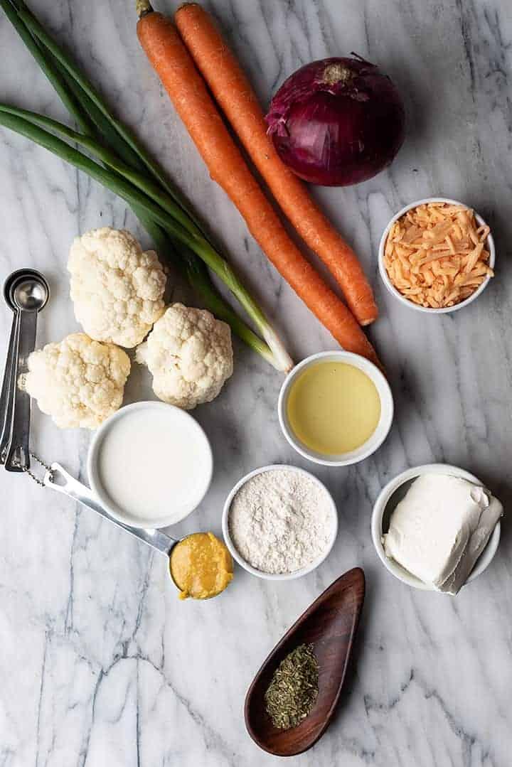 roasted cauliflower soup| superman cooks