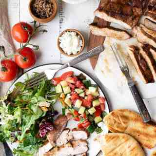 grilled moroccan spiced pork loin | superman cooks