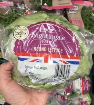Tesco - Nightingale Farms Lettuce