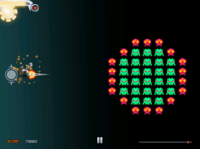 Zombie space invaders!