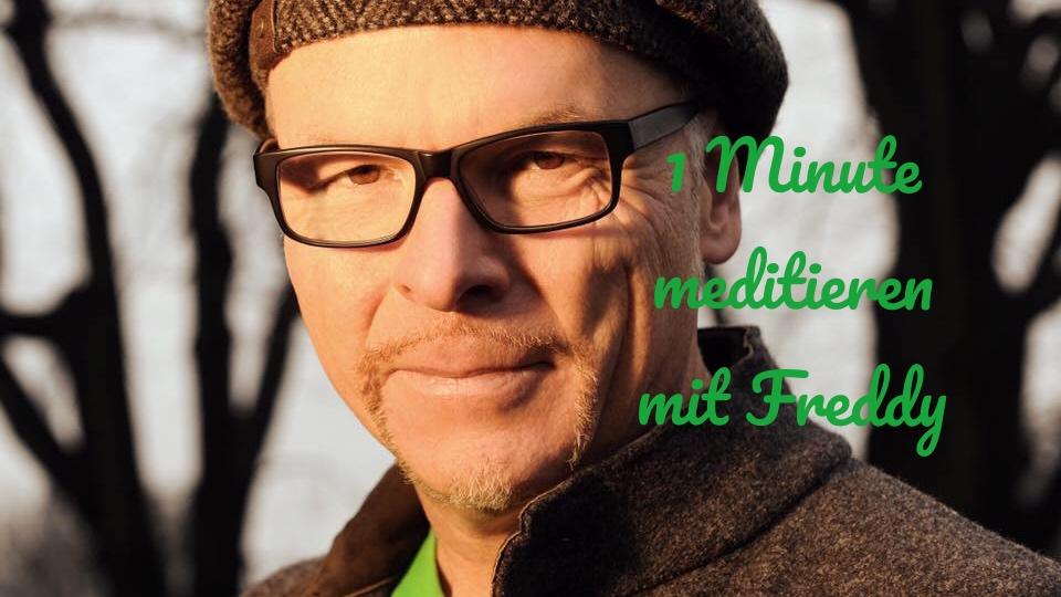 """1 Minute meditieren mit Freddy !: """"Entstressung durch Handmassage"""""""