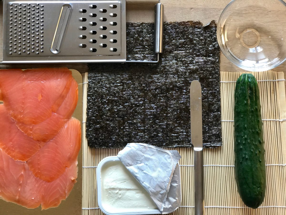 Low-Carb-Sushi: Zutaten
