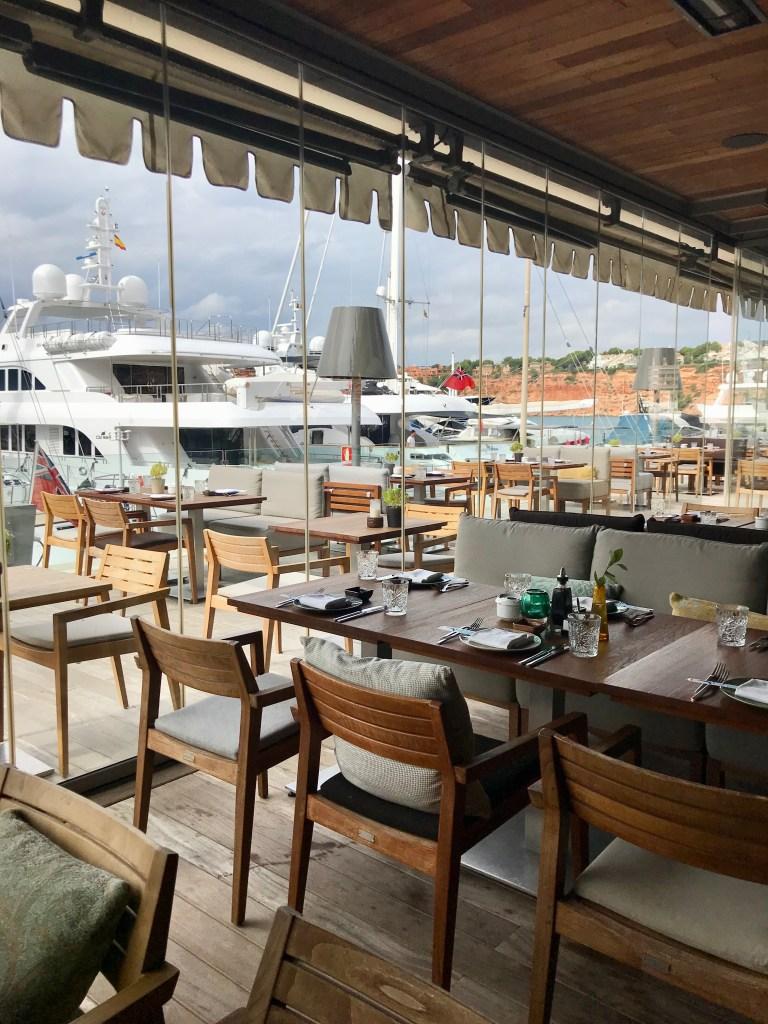 Restaurant Coast Mallorca Aussicht