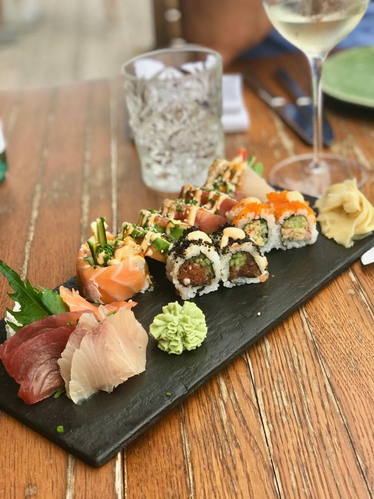 Restaurant Coast Mallorca: Sushi