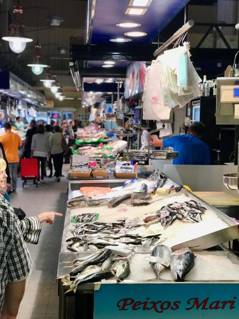 Mercat de l'Olivar Palma: Fischhalle