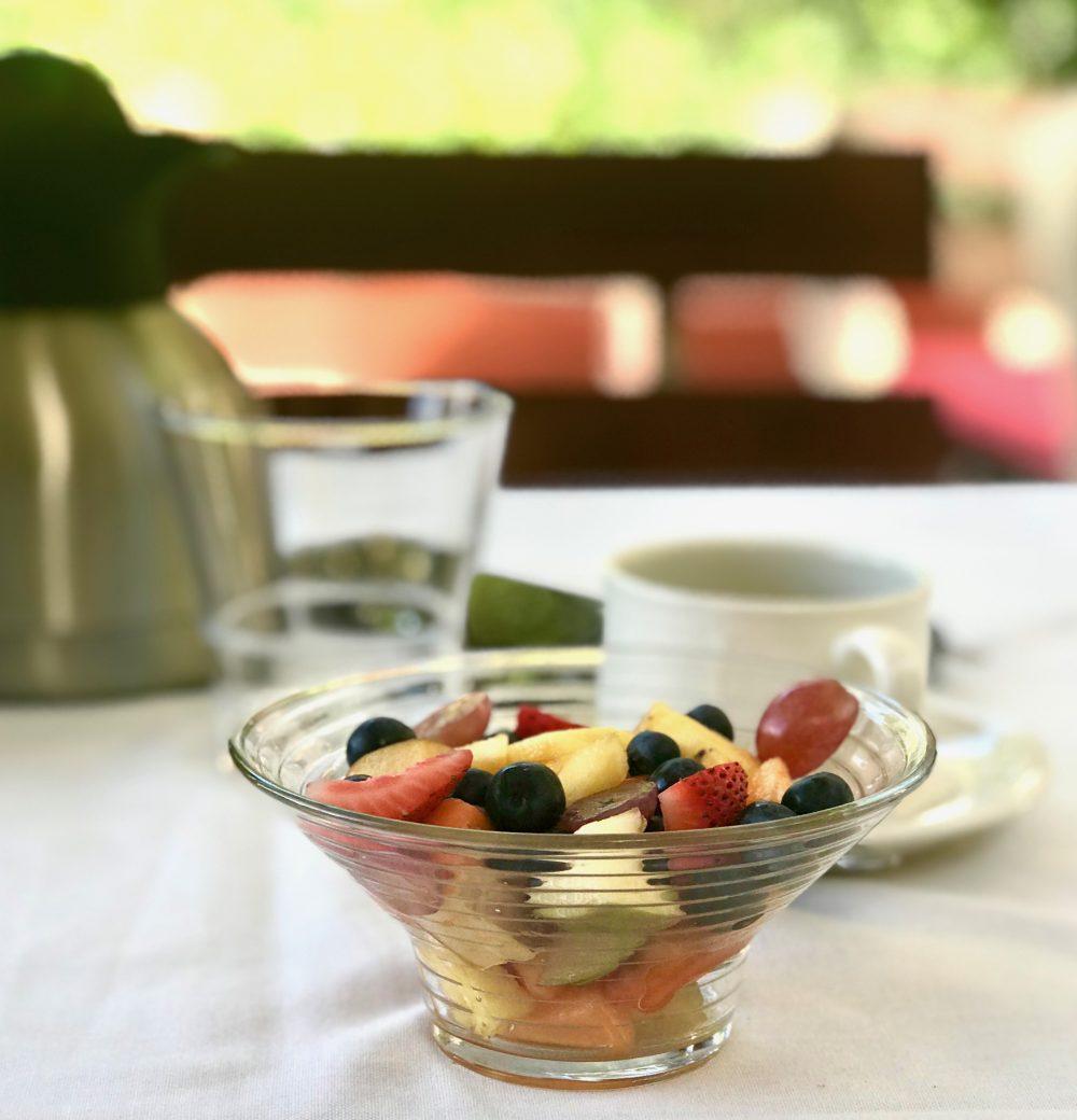 De Leeuwenhof: Obstsalat