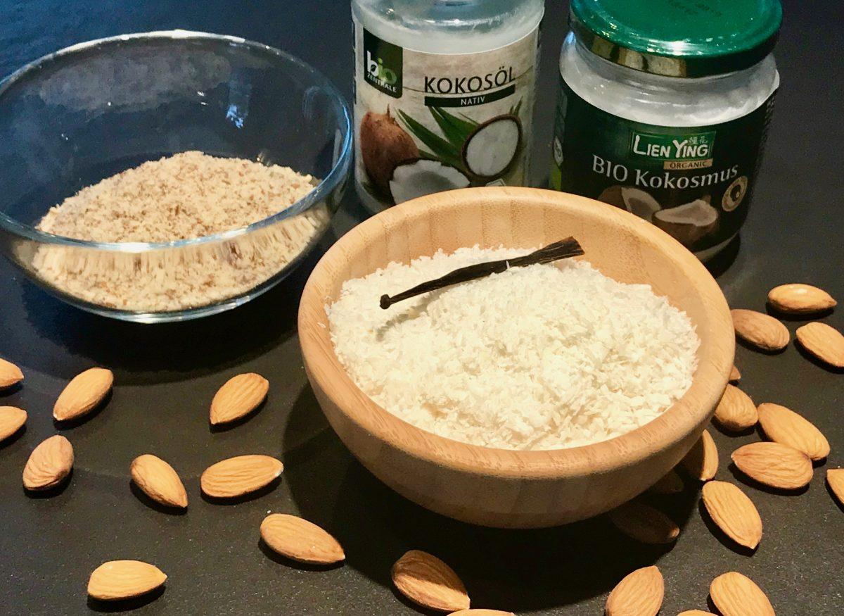 No-Carb-Kokosnuß-Pralinen: Zutaten