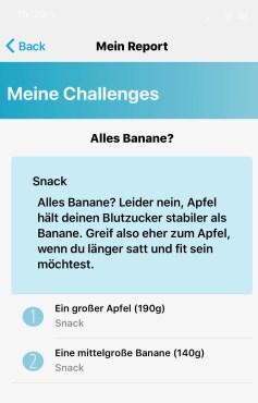 MillionFriends: Auswertung Snack Challenge