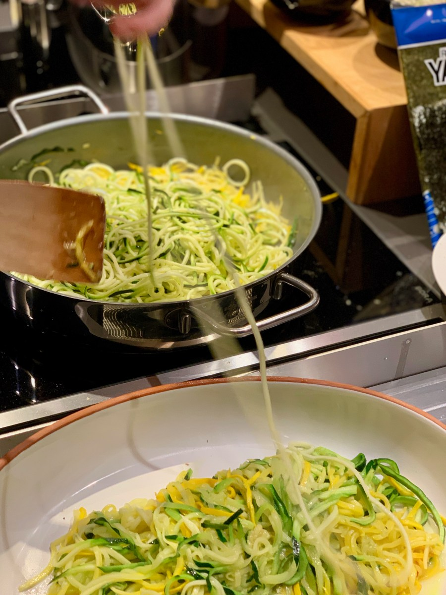 No-Carb-Workshop: Zoodles