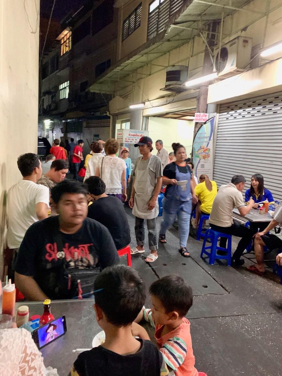 Weltreise: Bangkok Streetfood Aroy-Rim-Tang