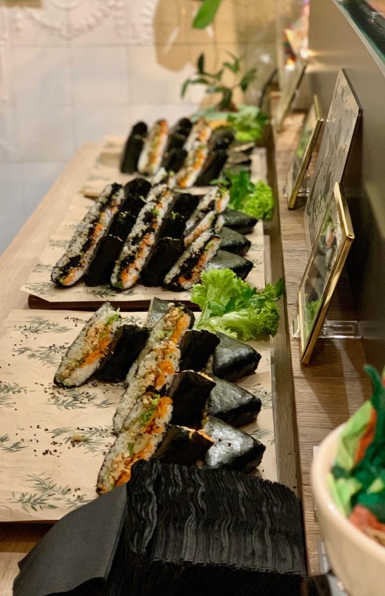 Sando & Ichi: Reis-Sandwiches
