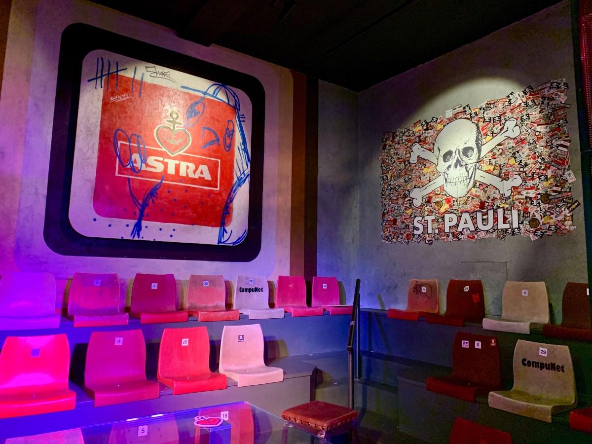 Astra Brauerei: Stadion-Deko