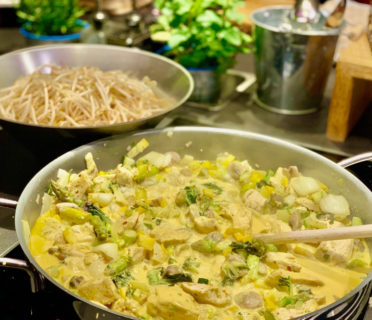 Keto-Workshop: Keto-Thai-Curry