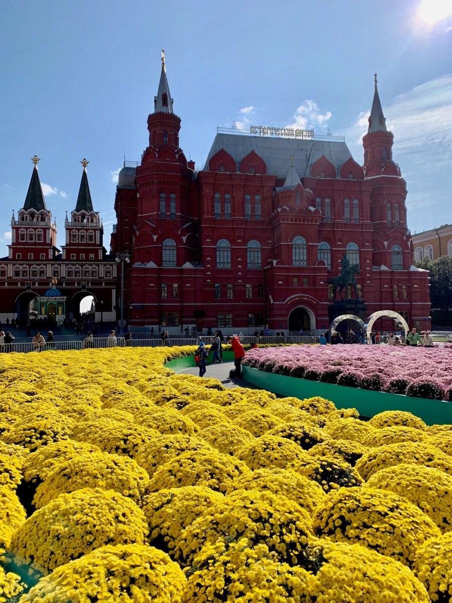 Moskau Staatliche Historische Museum & Kasaner Kathedrale