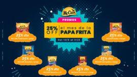 25% de DESCUENTO en PAPAS MC CAIN