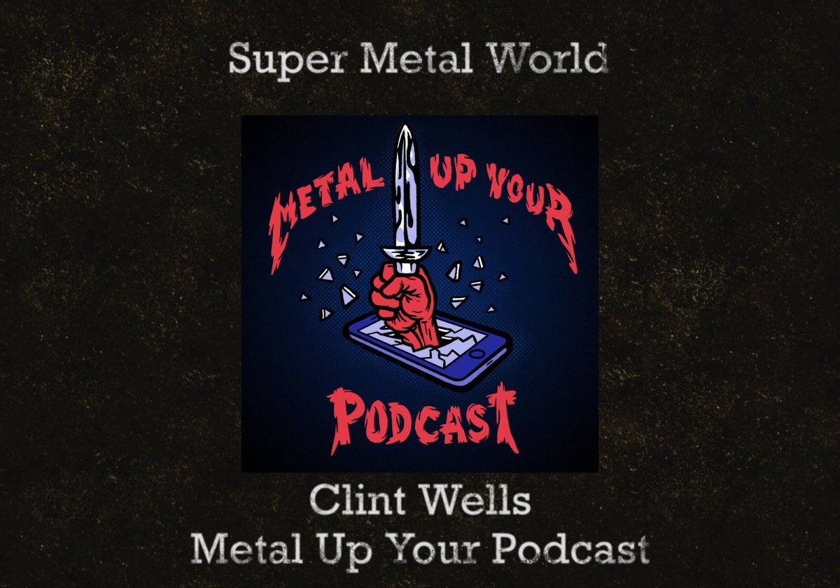 Cohost Clint Wells of Metal Up Your Podcast