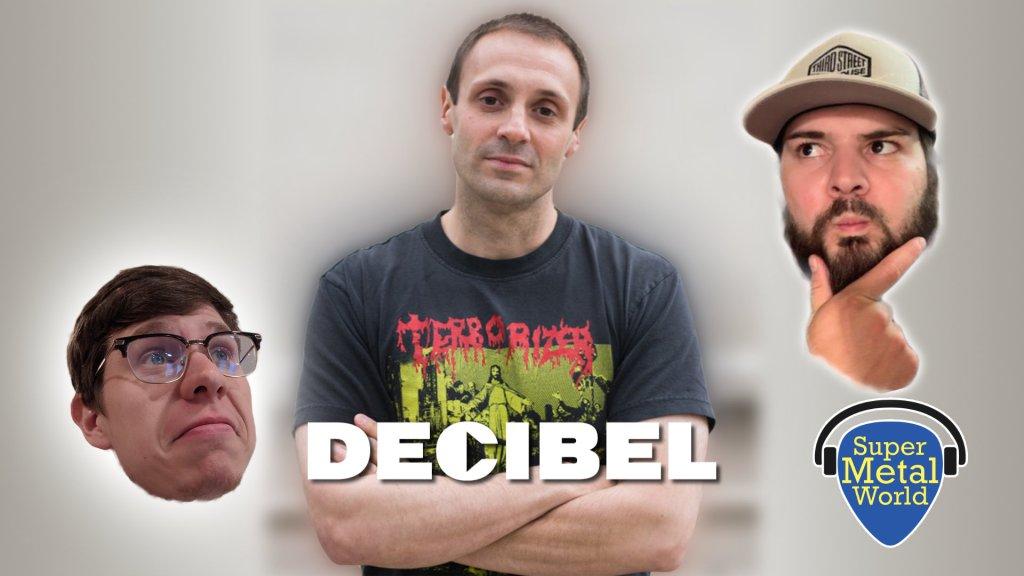 Albert Mudrian of Decibel Magazine