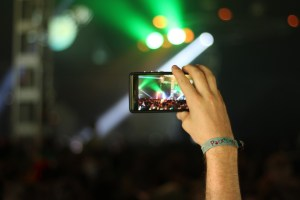 Cell phones at concerts | On the Rocks