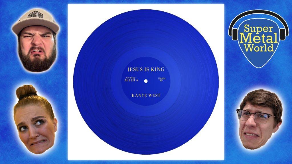 Jesus is King Album art