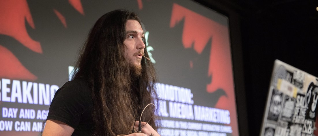 Music marketing guru Matt Bacon