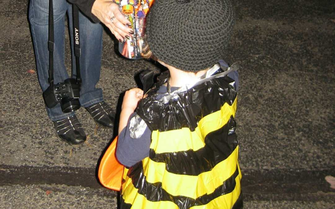 Easy DIY Halloween Costumes: Bumbling Bee