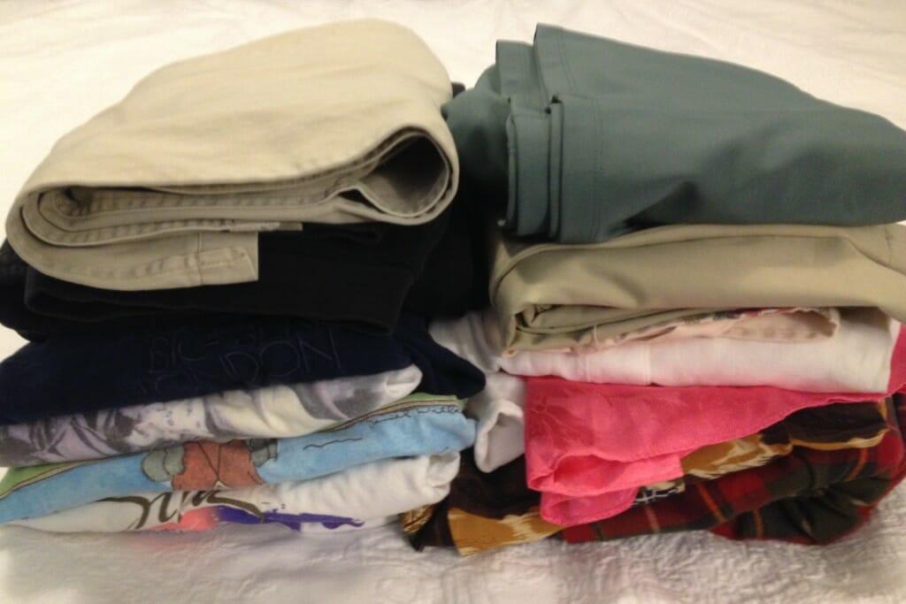 clothes I don't need