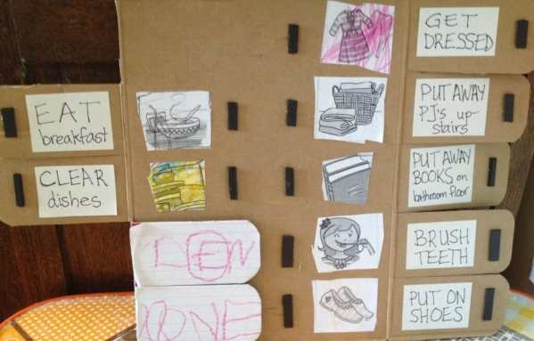 I used to think chore charts were silly, but now we're a family of chore chart converts. This is the story of how we got there, plus a DIY tutorial!