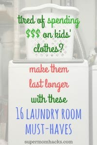 These laundry hacks have rescued the kiddos' duds from near-impossible stains, and saved my own clothes, more than once over the years. Give them a try.
