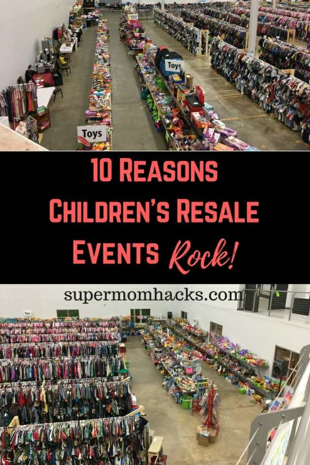 If you've never shopped (or sold) at children's resale events, let me share a secret with you: they're amazing! Here are 10 of my favorite reasons why.