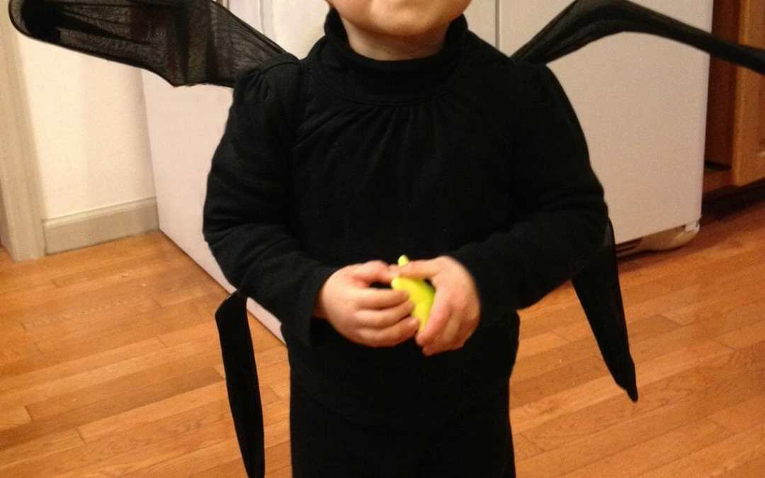 So Simple Spooky-Cute Spider Costume
