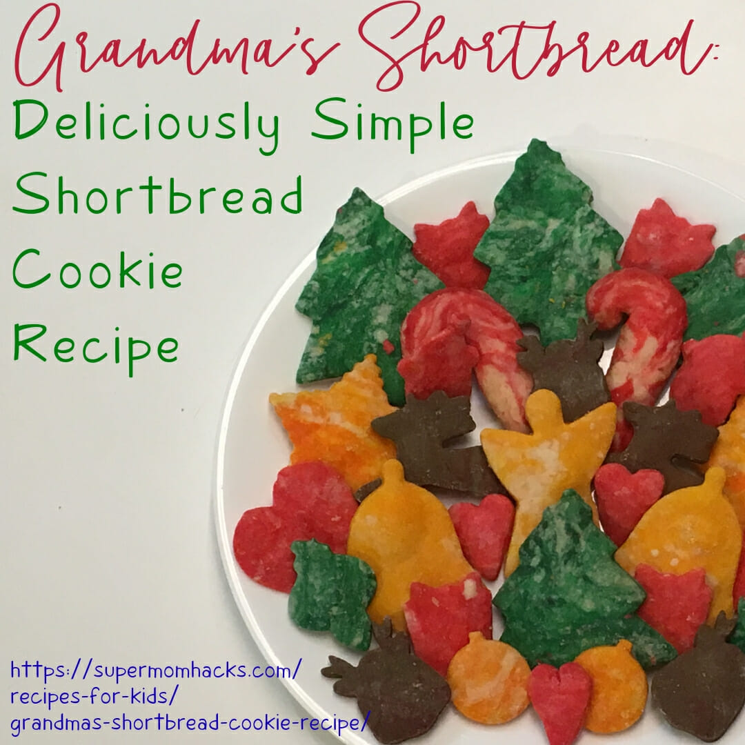 Are you looking for a lighter shortbread cookie that's just as delicious and melt-in-your-mouth? Then give Grandma's Shortbread Cookies a try.