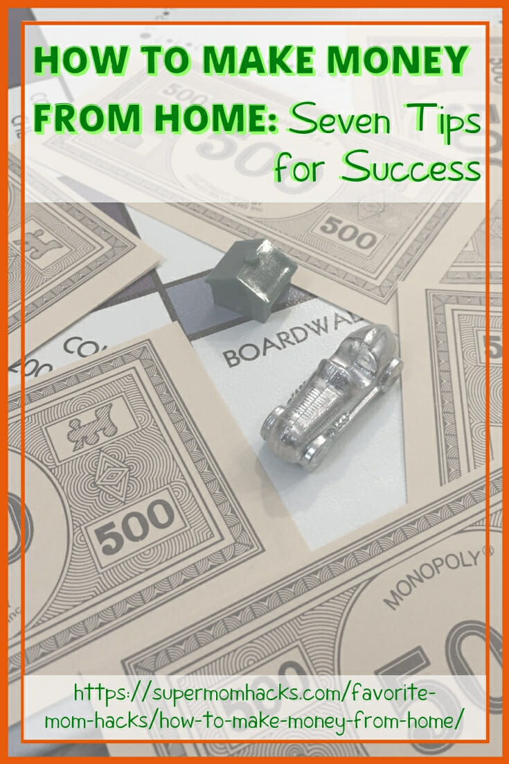 Whether it's holiday spending or just everyday life that has you wondering how to make money from home, here are five things to try.