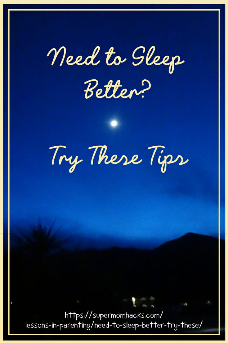 Feel as if you're not getting enough quality shut-eye at night? If you need to sleep better, these tips could be your ticket to a better night's sleep.