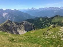 Panorama verso le Dolomiti