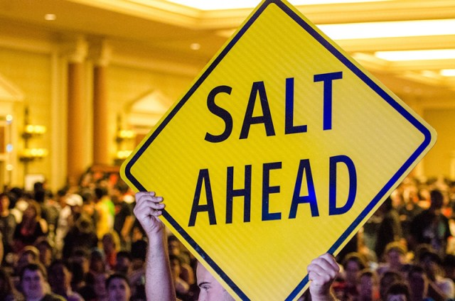Salt insert