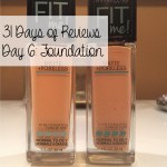 31 Days Of Reviews Day 6 Maybelline Fit Me Foundation Matte Poreless Supernovabeauty