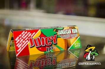 Jamaican Rum Flavored Juicy Jay Rolling Papers
