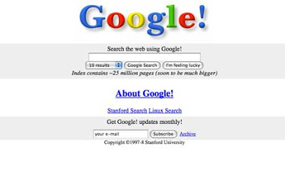 google look when lanched
