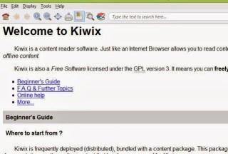 access wikipedia offline using kiwix