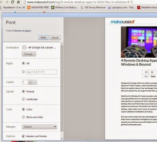 saving webpage in google chrome