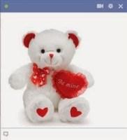 teddy bear facebook emoticon